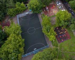 В столице упрощена схема  возведения спортивных площадок