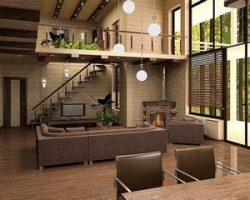 Интерьер загородного дома: составляющие правильного дизайна