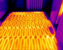 Зачем нужна проверка теплого пола тепловизором?
