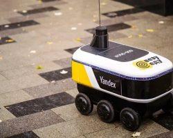 У «Яндекс.Еды» начали работу роботы-курьеры
