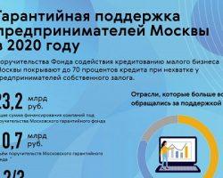 Бизнес активно использовал поддержку «Московского гарантийного фонда»