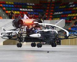 Резидент «Сколково»  презентовал в Москве прототип аэротакси