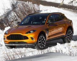 В Москве стартовали российские продажи «DBX» от «Aston Martin»