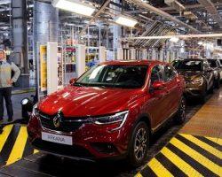 На мощностях «Renault Россия» производится спецверсия модели «Arkana»