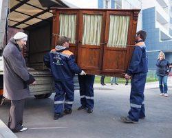 Помощь грузчиков: участникам Программы реновации обеспечена  бесплатная онлайн-услуга