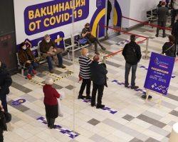 Выездные пункты вакцинации начали работу еще в 2-х торговых центрах Москвы