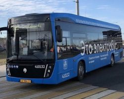 С московских мощностей «КАМАЗа» в столицу будет поставлено 350 новых электробусов