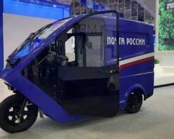 «Почта России» тестирует в Москве бизнес-модель использования электроциклов